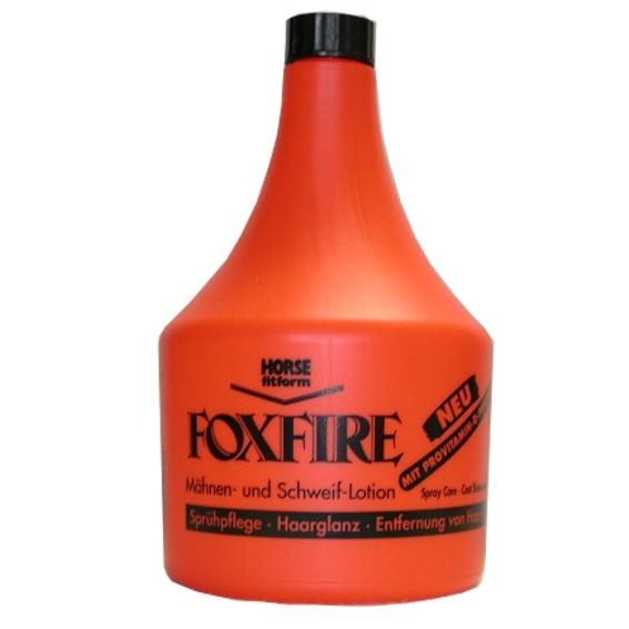 Foxfire Mähnen- und Schweifspray. Pharmaka